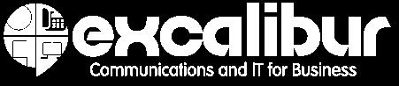 Excalibur Logo in white