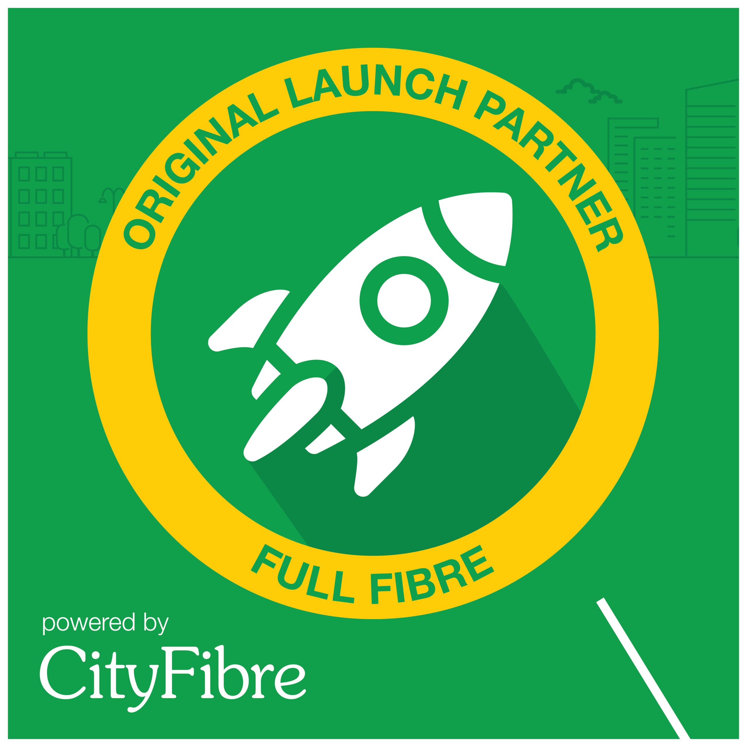 CityFibre official partner logo