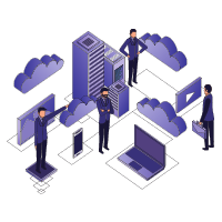 Isometric office picture