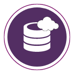 Hosting and Cloud Icon